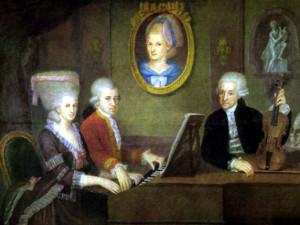 Mozart_family_portrait_by_della_Croce_1780
